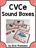 Sound Box Task Cards ~ CVCe and CCVCe