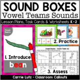 Sound Boxes with Pictures for Vowel Teams - Vowel Pairs