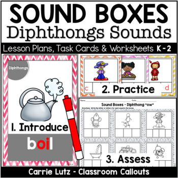 Sound Boxes 3 ~ Fun With Diphthongs {Great for Guided Read