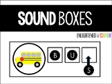 Sound Boxes - Literacy Activity for K/1