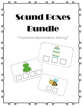 Sound Boxes Bundle {Phoneme Segmentation Activity}