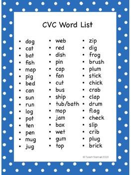 Sound Boxes - Short Vowels (CVC)