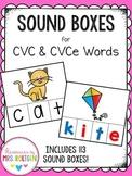 Sound Boxes {CVC and CVCe Words}