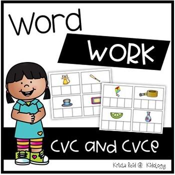 CVC and CVCe Words