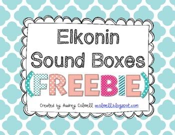 Sound Boxes {FREEBIE}