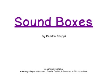 Sound Boxes Flipchart