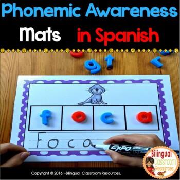 Phonemic Awareness Mats In Spanish