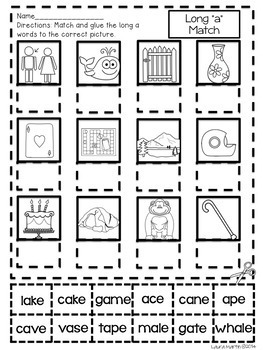 Sound Boxes and Letter Boxes-Long Vowels