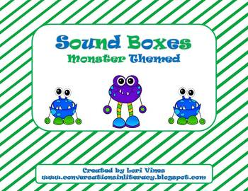Sound Boxes: Monster Theme