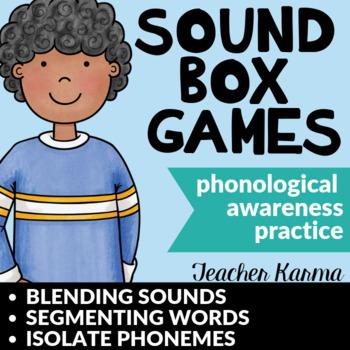 Sound Boxes ~ Phonemic Awareness ~ Blend & Segment Sounds  ~ Phonemes ~ Reading
