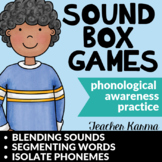 Sound Boxes, Phonemic Awareness, Blend & Segment Sounds, Phonemes