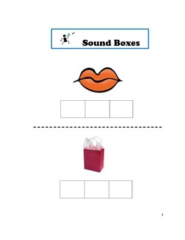 Guided Reading, Sound Boxes Phonics Skills First Grade & Kindergarten