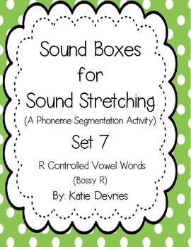 Sound Boxes Set 7  R Controlled Vowels