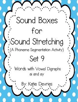 Sound Boxes Set 9 Digraphs ai and ay