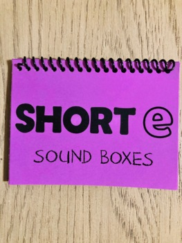 Sound Boxes: Short e