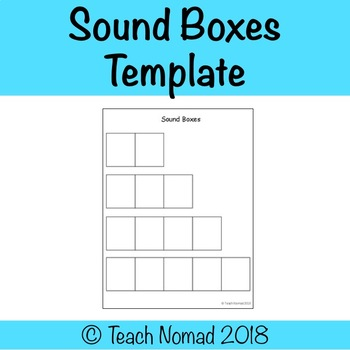 Sound Boxes Template