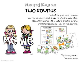Sound Boxes- Two Sounds
