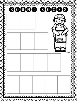 Sound Boxes and Analogy Chart for Guided Reading