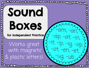 Sound Boxes for Independent Practice
