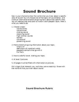 Sound Brochure