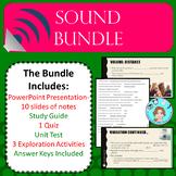 Sound Bundle- Vibrations, Pitch, and Volume – Upper Elemen