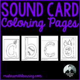 Sound Card Coloring Pages