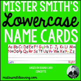 Lowercase Name Cards- Sound Card Concepts