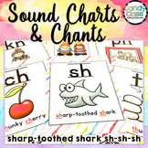 Phonics Posters with Chants Bundle for Phonemic Awareness & Phonics Activities