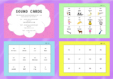 Sound Cards - Digraphs and Vowel Digraphs