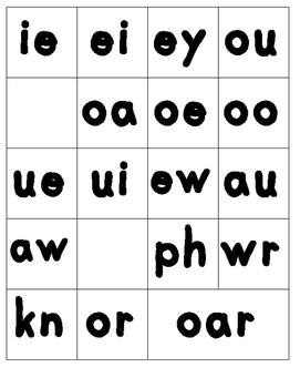 Sound Cards - Word Building - Remedial Reading and Spelling - Dyslexia