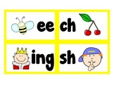 Sound Cards (common digraphs to help with invented spelling)