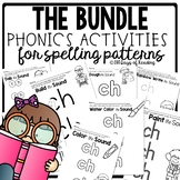 Multisensory Phonics Activities for Spelling Patterns (BUNDLE)