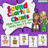 Sound Charts & Chants Save Ink Option {Phonemic Awareness & Phonics Activities}
