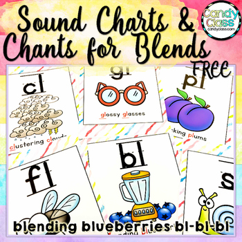 Sound Charts & Chants for Blends Freebie