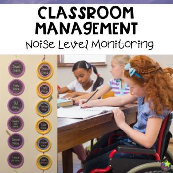 Noise Level Monitoring 1 Chalkboard Theme