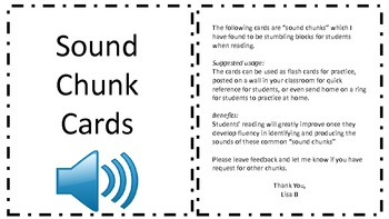 Sound Chunk Cards
