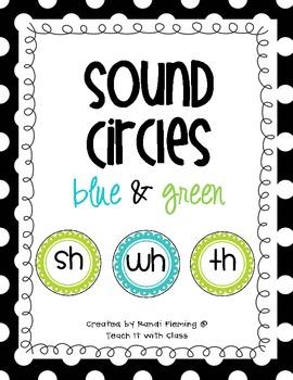 Sound Circles {blue & green}