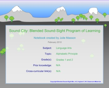 Sound City for SMARTboard
