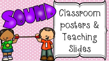 Sound Classroom Posters, Bulletin Board, or Teaching Slides