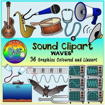 Sound Clipart (Waves)