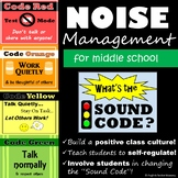 Noise Level Signs for Middle School