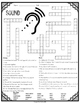 Sound Energy Vocabulary Comprehension Crossword