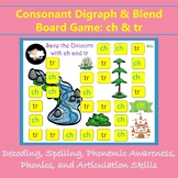 Consonant Blend and Digraph Game: ch and tr