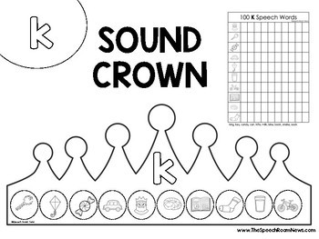 Sound Crowns: 100 trial Speech Crowns for Articulation Therapy
