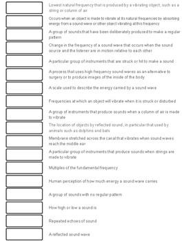 Sound Cut-n-Paste Vocabulary