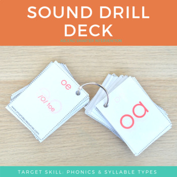 Sound Deck Flashcards