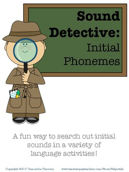 Sound Detective: Initial Phonemes