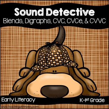 Sound Detective Word Work