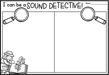 Sound Detective Worksheets