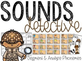 Sound Detectives: Phoneme Segmentation Activities